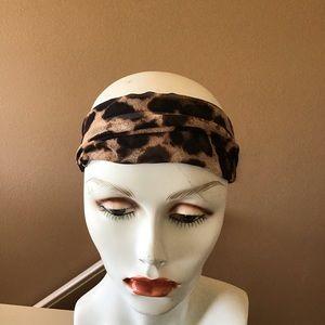 NWOT Express Leopard Print Semi Sheer Headband